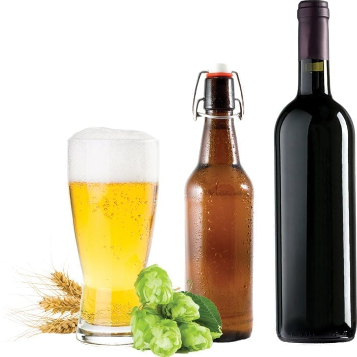 Photo of Beer and Wine